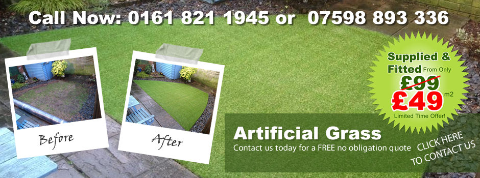 Artificial Grass Manchester Sale Now On